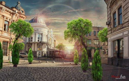 """Новые фото из серии """"Постапокалиптический Кировоград"""""""