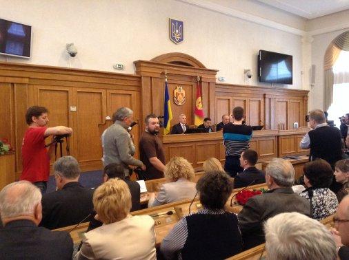 Ексклюзив: Новий губернатор Кіровоградщини - перші обіцянки, прогнози, фото, враження