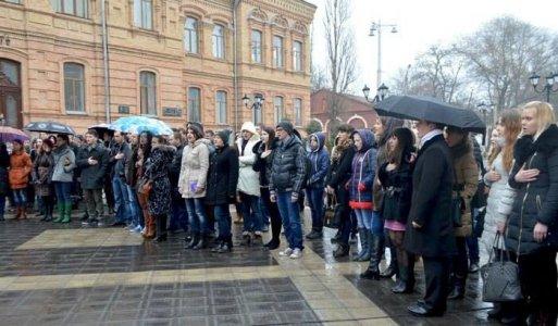 У Кіровограді пройшло студентське віче