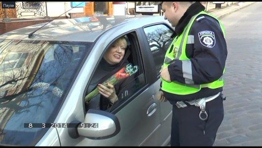 Державтоінспекція Кіровоградщини привітала жінок-водіїв з Міжнародним жіночим днем