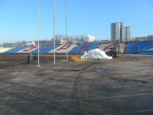 """Триває реконструкція стадіону """"Зірка"""""""