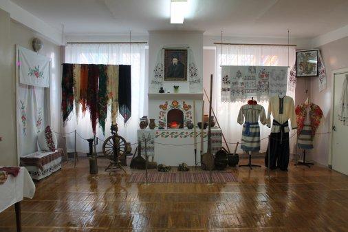 В поліклінічному відділені центральної міської лікарні відкрився шевченківський музей