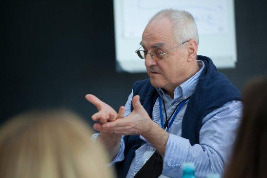 Лучано Глоор, керівник Бюро моніторингу та інституціонального розвитку (RMCBU) програми EuroEast Culture