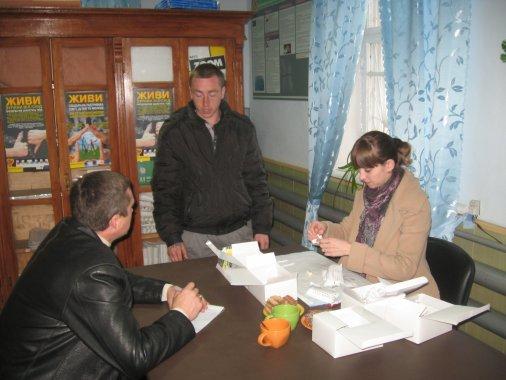 Для Добровеличківських підоблікових провели акцію – «Бережи себе – пройди експрес тестування»