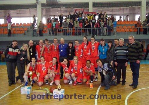 «Елисавет-Баскет» чемпион Украины!