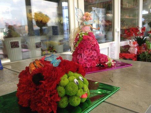 Елена Федоренко начинает мастер-классы по флористике для детей