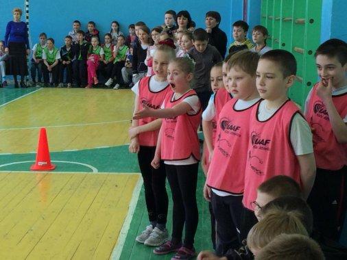 У кіровоградській школі № 35 пройшли «Веселі старти»