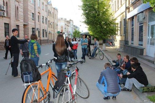 Акустическая пятница - уличные музыканты в Кировограде