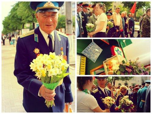 """Мультибренд """"Пицца Челентано и Картопляна Хата"""" поздравили ветеранов с Днем победы!"""