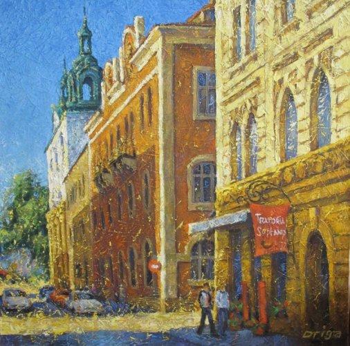 Виставка художніх творів «Мандрівка містами Європи» до Дня Європи
