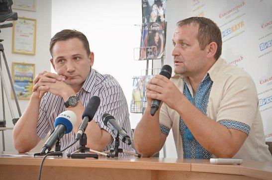 Костянтин Яринич та Віталій Юрах (автор фото - Олена Карпенко)
