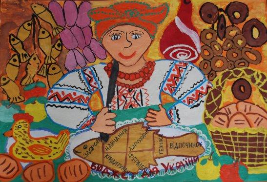 Анна Говорун (вікова категорія 9-11 років, м.Кіровоград)