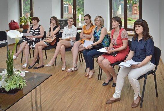 Учасники тренінгу, автор фото - Олена Карпенко