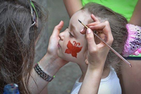 фото зі святкування у Ковалівському парку