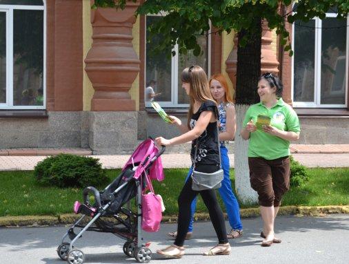 Волонтери розповіли кіровоградцям чимало про здоров'я жінок