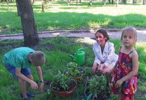 Ботанічний гурток для дітей почав працювати у Дендропарку