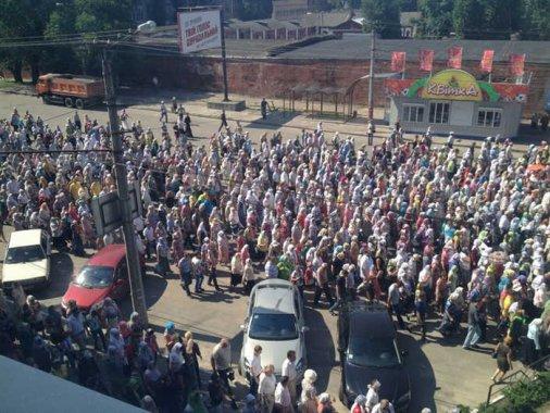 Хресна хода пройшла вулицями Кіровограда сьогодні
