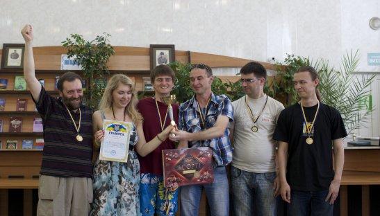 «Переучетъ» (Ровно) - чемпион Украины