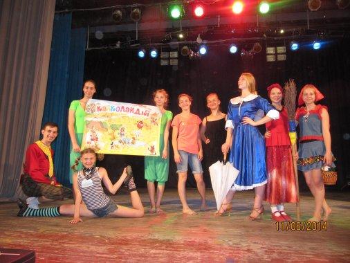 """Незвичайні пригоди показали сільським малюкам артисти """"Аеліти"""""""