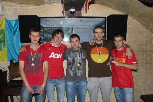Тарасенко Тарас и Козлов Владимир - победители Чемпионата по FIFA 14 на XBOX