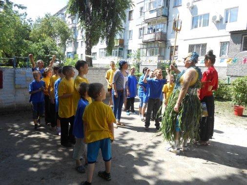 Спортивне знаряддя та інвентар для дітей Кіровоградські пенітенціарії подарували до Дня здоров'я