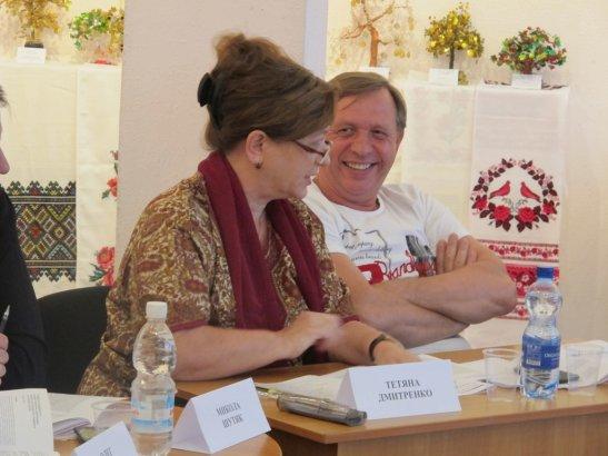 Тетяна Дмитренко і Микола Цуканов