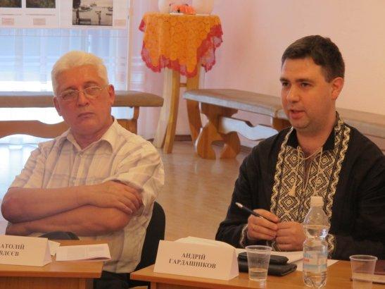 Анатолій Андрєєв і Андрій Гардашніков