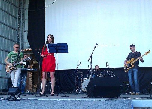 """Виступ гурту """"Don blues band"""" у Дендропарку подарував радість городянам"""