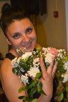 Мадина с цветами