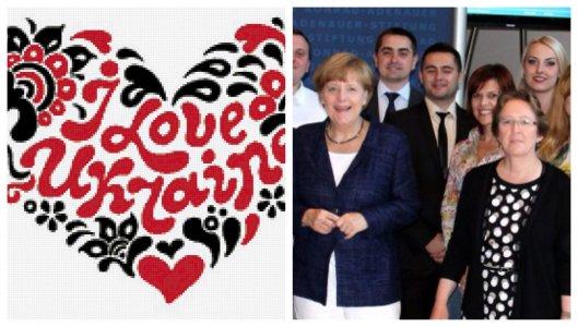 Депутат из Александрийского горсовета рассказал Ангеле Меркель об Украине