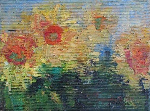 Завітайте на виставку живописних творів «Шлях. Простір» Дмитра Тарасенка