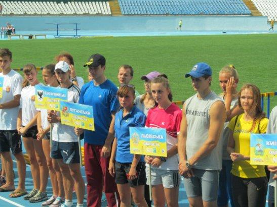Відкриття Чемпіонату з легкої атлетики у Кіровограді