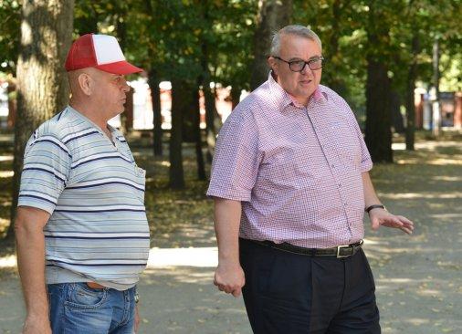 До Дня міста у парку Ковалівському відкриють шаховий клуб