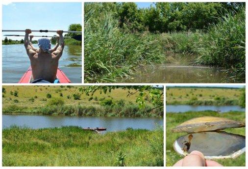 Сплав у дусі козацьких традицій річкою Синюха