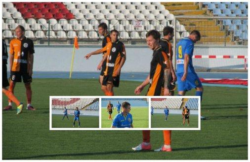 Футбол: Нульова нічия в товариському матчі