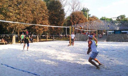 Вітаємо призерів Чемпіонату з пляжного волейболу!