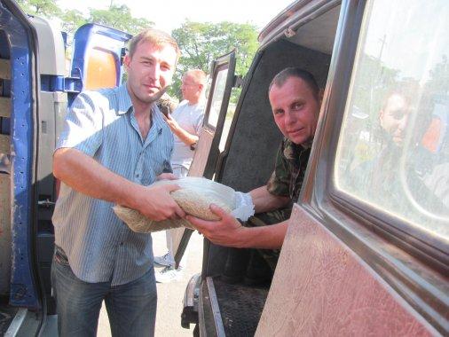 Благодійники з фонду «Соломон» відвезли допомогу в зону АТО