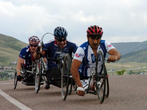 Пробіг Європою на інвалідному візку