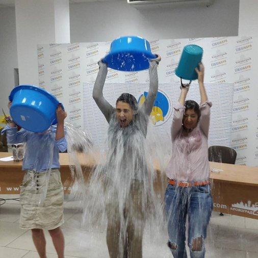 Кіровоградці долучаються до Ice Bucket Challenge