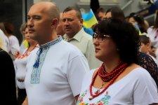 """Хода у вишиванках у Кіровограді, фото - """"Гречка"""""""