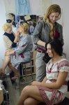 Наталья Горбачева и Оксана Сера, Анна Тишкус и Анастасия Мироненко, фото - Жанна Сичкарь
