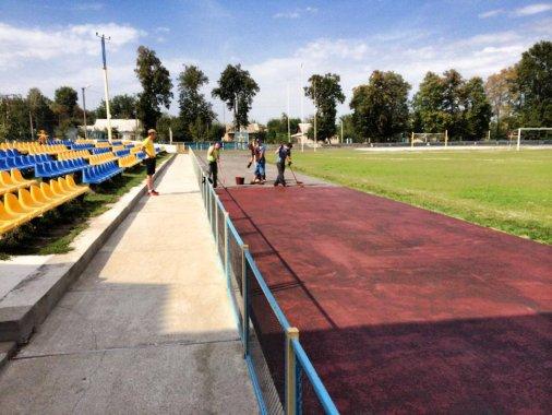 Олександрівський стадіон готується до відкриття!