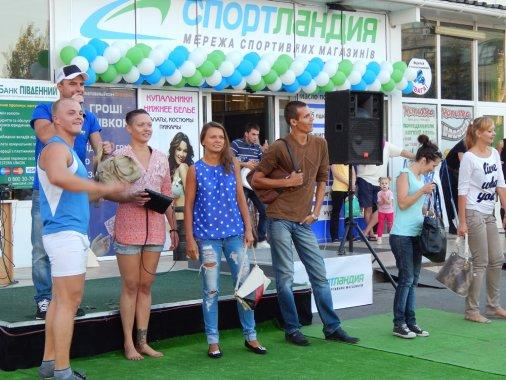 Магазин «Спортландия» открылся в Кировограде
