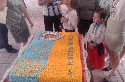 Торт рекордної ваги продали на аукціоні у Новоукраїнці