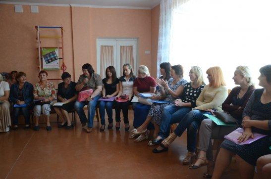 Учасники тренінгу у селі Созонівка