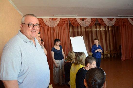 Станіслав Березкін привітав учасників тренінгу