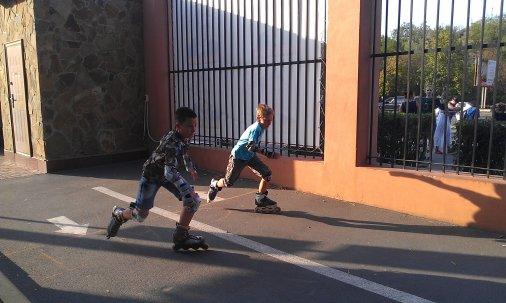 Перші міські змагання з роллер-спорту серед дітей