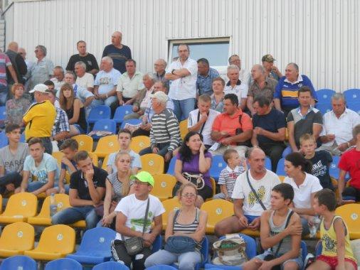 Футбол: Гартування «Сталлю»