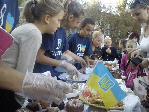 Тисячу гривень зібрали дітки для пораненого бійця