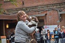 Тетяна Кучерява та її собачка на ймення Тофля